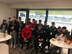 VIP Corporate boxes for NI Game