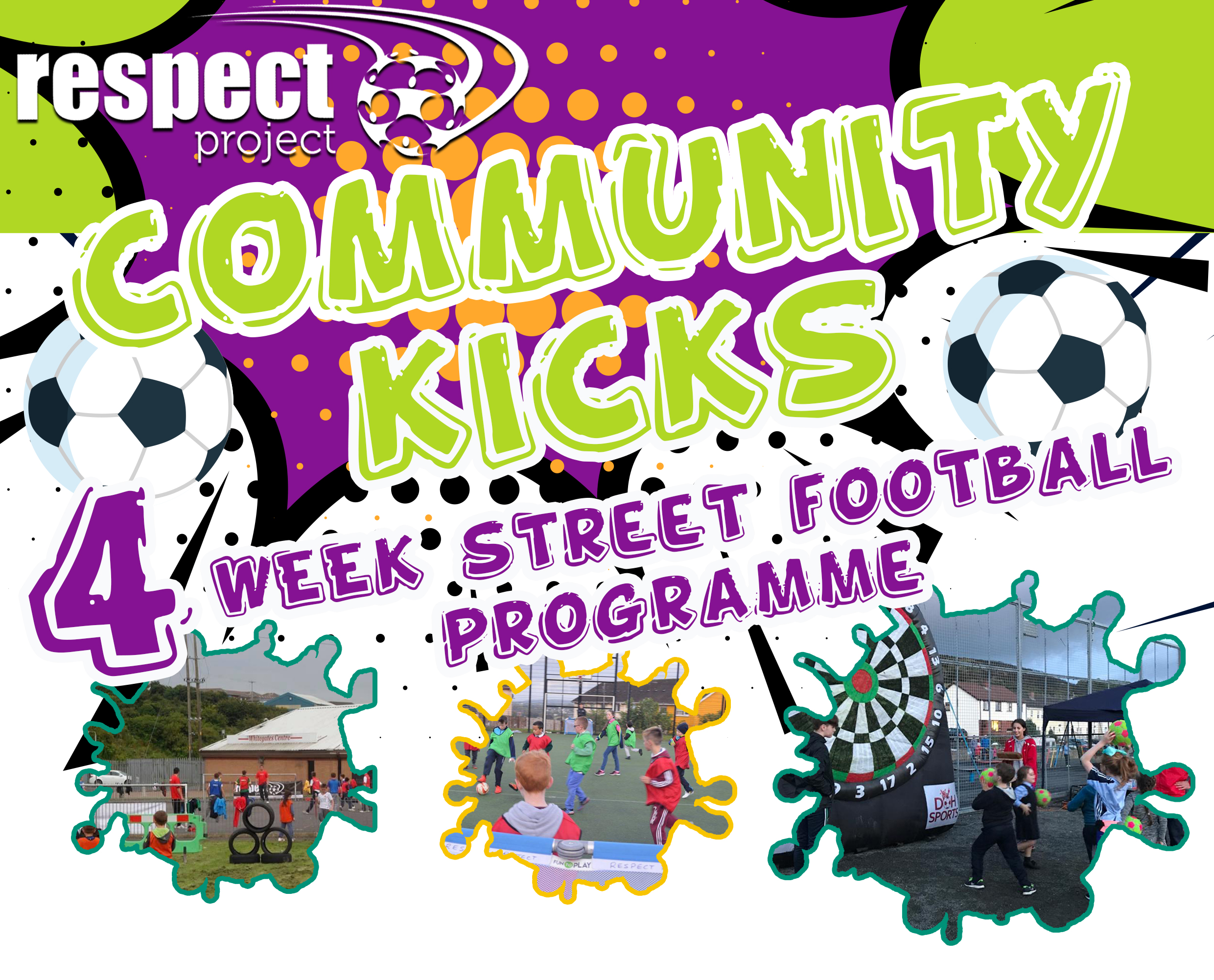 Community Kicks 4 Week Programme